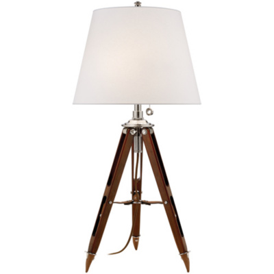 Holden Surveyor's Table Lamp in Mahogany