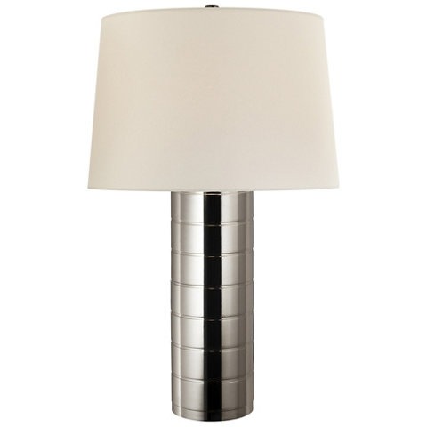 Montgomery Table Lamp In Polished Nickel Table Lamps Lighting Products