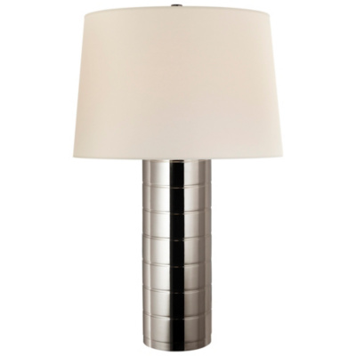 Montgomery Table Lamp in Polished Nickel