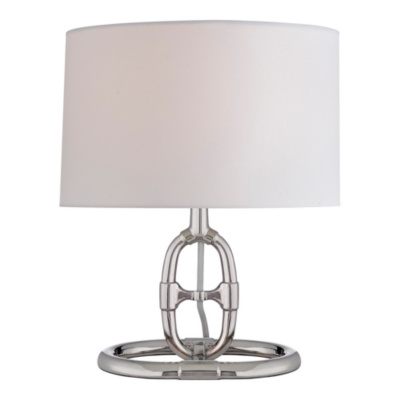 Jasper Accent Lamp in Polished Nickel