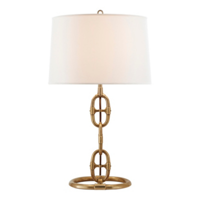 Jasper Table Lamp - Natural Brass