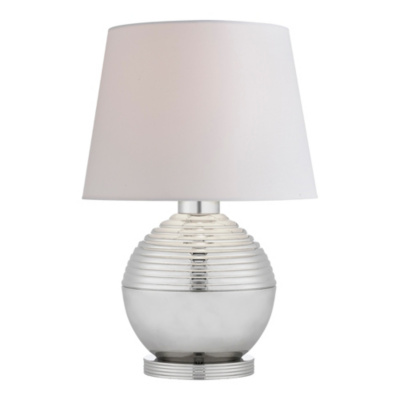 Winston Accent Lamp in Polished Nickel