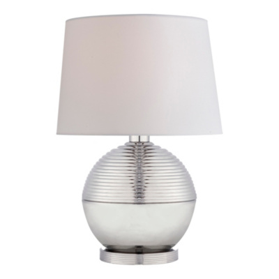Winston Table Lamp in Polished Nickel