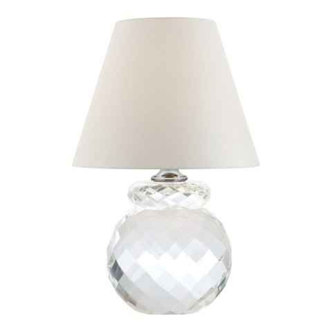 Daniela Accent Lamp In Clear Crystal