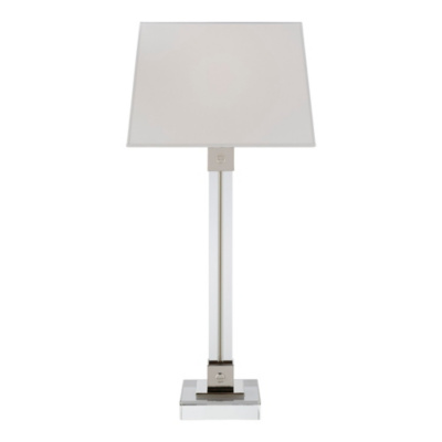 Varick Table Lamp - Polished Nickel
