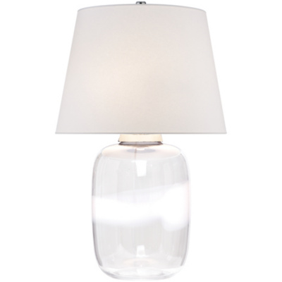 Adela Table Lamp with White Stripe