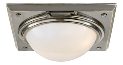 Wainscott Large Flush Mount - Antique Nickel