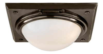 Wainscott Large Flush Mount - Bronze