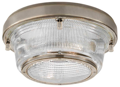 Grant Medium Flush Mount - Antique Nickel