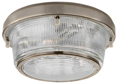 Grant Large Flush Mount - Antique Nickel