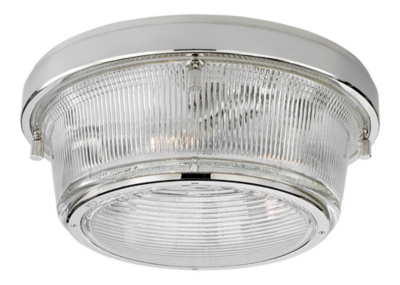Grant Large Flush Mount - Polished Nickel
