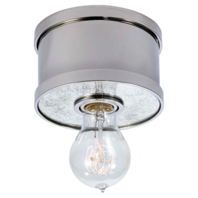 Roark Small Flush Mount in Polished Nickel