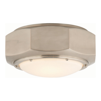 Niles Flush Mount in Antique Nickel