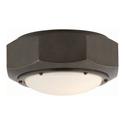 Niles Flush Mount in Bronze
