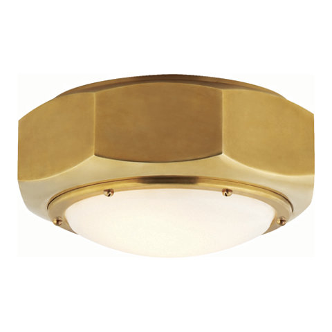 Niles flush mount in brass ceiling fixtures lighting niles flush mount in brass ceiling fixtures lighting products ralph lauren home ralphlaurenhome mozeypictures Images