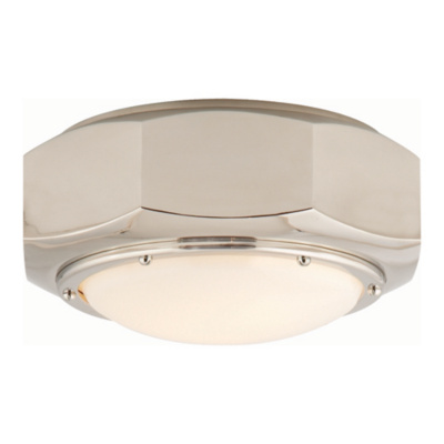 Niles Flush Mount in Polished Nickel
