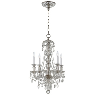 Daniela Four-Light Chandelier in Crystal