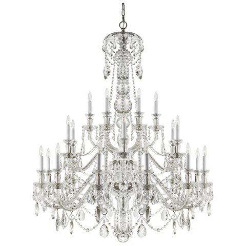 Daniela twenty four light chandelier in crystal ceiling fixtures lighting products ralph lauren home ralphlaurenhome com