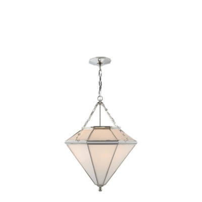 Cannes Pendant in Polished Nickel