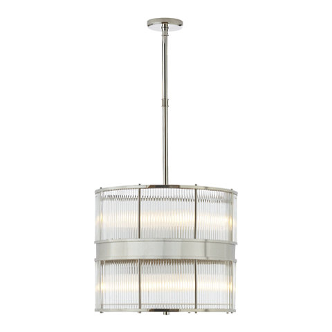 Allen Large Pendant In Polished Nickel Ceiling Fixtures Lighting Produc
