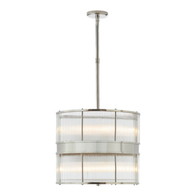 Allen Large Pendant in Polished Nickel