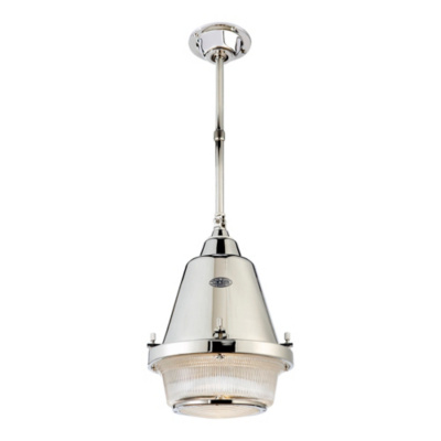 Grant Medium Pendant - Polished Nickel