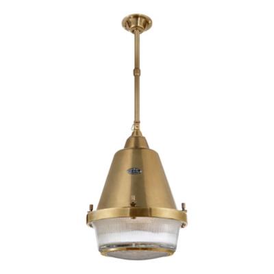 Grant Large Pendant - Natural Brass