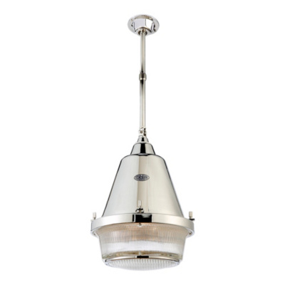 Grant Large Pendant - Polished Nickel