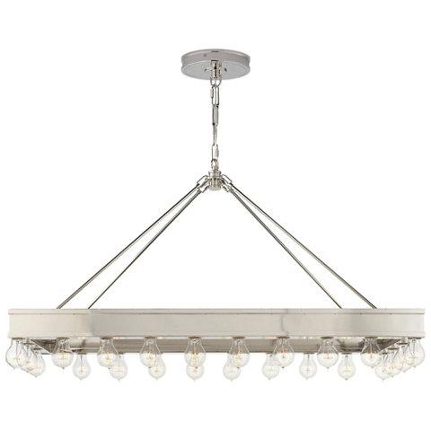 ralph lauren lighting fixtures. Roark Rectangular Pendant In Polished Nickel - Ceiling Fixtures Lighting Products Ralph Lauren Home RalphLaurenHome.com L