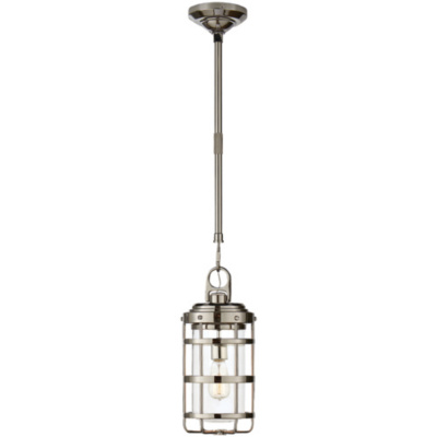 Crosby Small Pendant in Polished Nickel