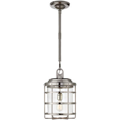 Crosby Large Pendant in Polished Nickel