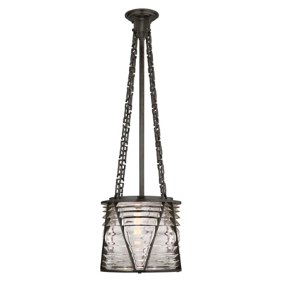 Chatham Small Pendant in Bronze