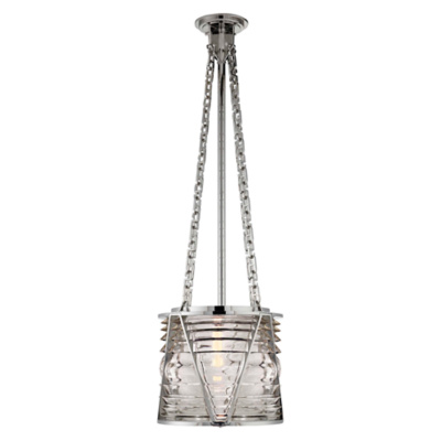 Chatham Small Pendant in Polished Nickel