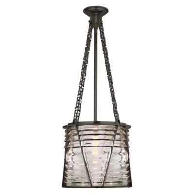 Chatham Large Pendant in Bronze