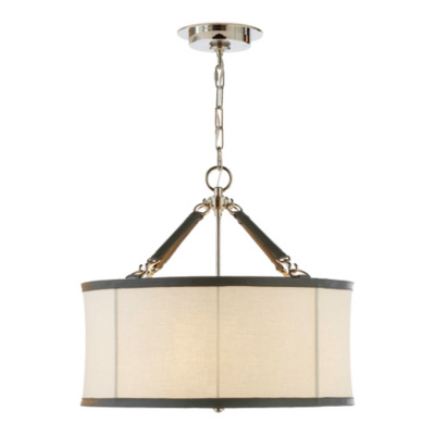 Broomfield Small Pendant in Polished Nickel