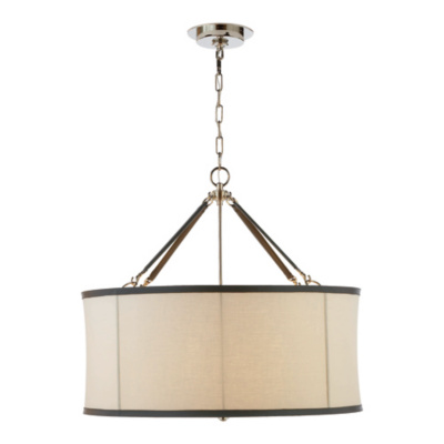Broomfield Large Pendant in Polished Nickel