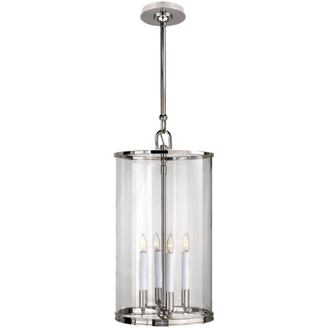 Modern Large Lantern In Polished Nickel Ceiling Fixtures Lighting Produ