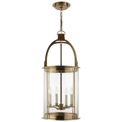 Westbury Lantern In Natural Brass Ceiling Fixtures Lighting Products