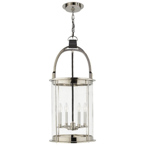 Westbury Lantern In Polished Nickel Ceiling Fixtures Lighting Products