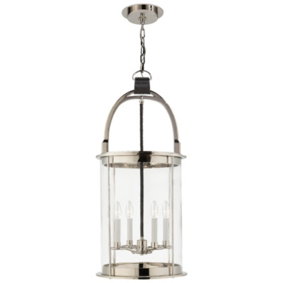 Westbury Lantern in Polished Nickel