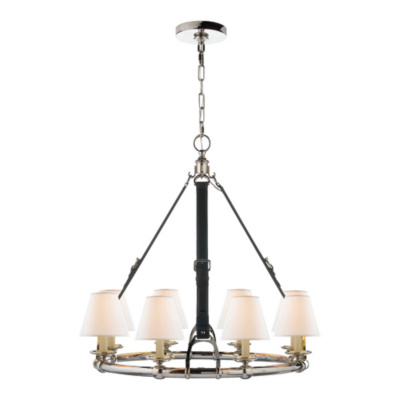 Westbury Chandelier in Polished Nickel