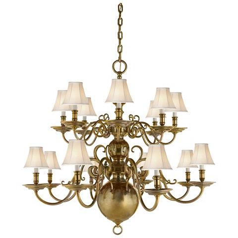 ralph lauren lighting fixtures. lillianne sixteenlight chandelier in natural brass ceiling fixtures lighting products ralph lauren home ralphlaurenhomecom