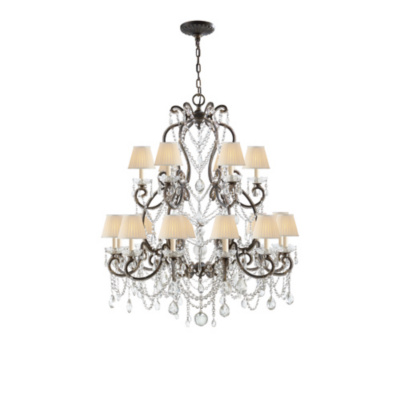 Adrianna Medium Chandelier in Antique Gild