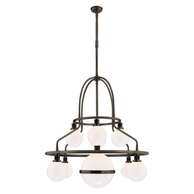 McCarren Triple Tier Chandelier in Bronze
