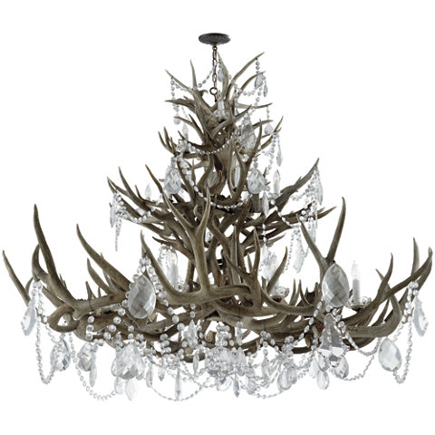 Straton chandelier in bone w antiqued crystal ceiling fixtures straton chandelier in bone w antiqued crystal ceiling fixtures lighting products ralph lauren home ralphlaurenhome aloadofball Image collections