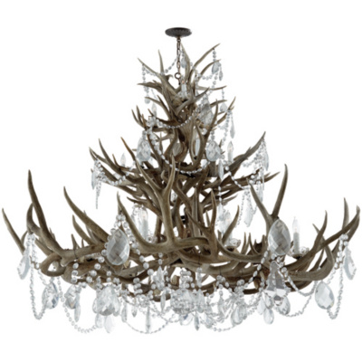 Straton Chandelier in Natural