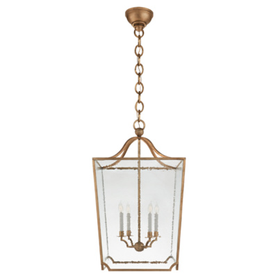 Beatrice Large Lantern in Gilded Iron
