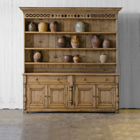 Pine Buffet Cabinet - Antique Pine Finish - Armoires / Cabinets - Furniture  - Products - Ralph Lauren Home - RalphLaurenHome.com - Pine Buffet Cabinet - Antique Pine Finish - Armoires / Cabinets