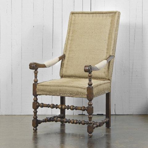 fauteuil louis xiii ralph lauren home. Black Bedroom Furniture Sets. Home Design Ideas