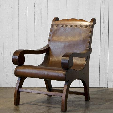 1940u0027s Plantation Chair - Habana Maduro Finish - Chairs / Ottomans - Furniture - Products - Ralph Lauren Home - RalphLaurenHome.com & 1940u0027s Plantation Chair - Habana Maduro Finish - Chairs / Ottomans ...